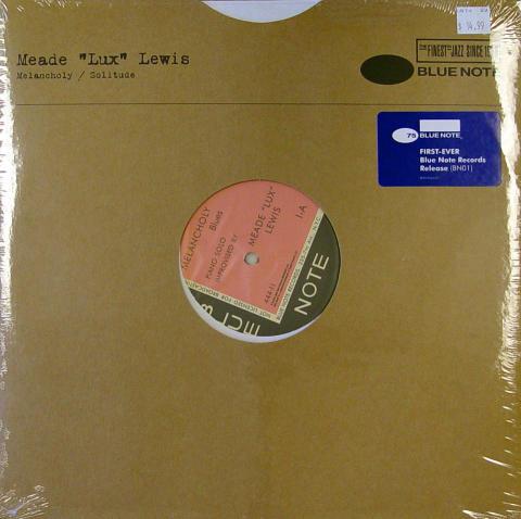 "Meade ""Lux"" Lewis Vinyl 12"""