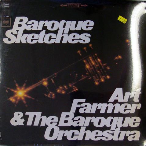 "Art Farmer & The Baroque Orchestra Vinyl 12"""