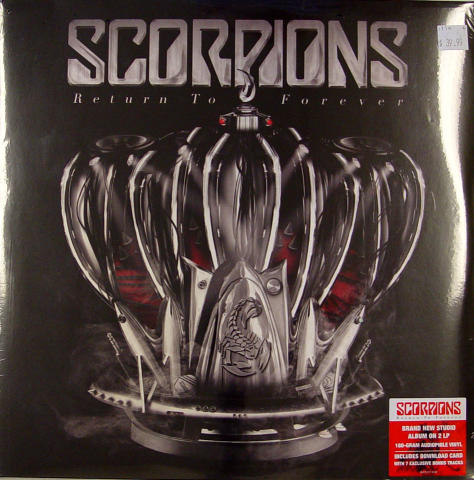 """Scorpions Vinyl 12"""""""
