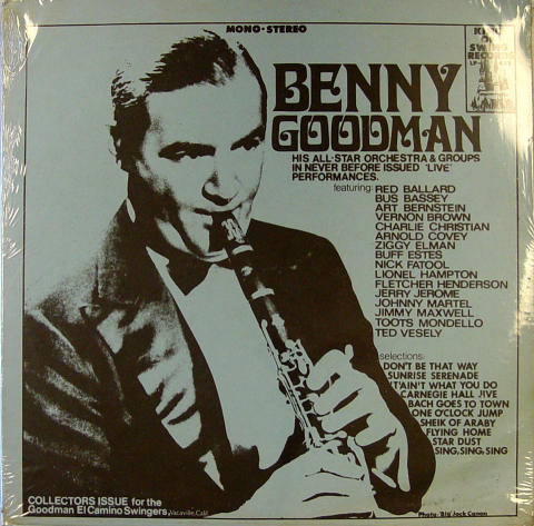 """Benny Goodman And His All-Star Orchestra Vinyl 12"""""""