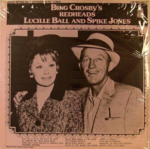"Bing Crosby's Redheads Vinyl 12"""