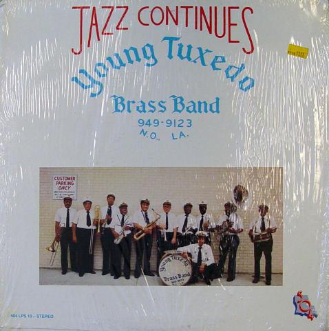 "Young Tuxedo Brass Band Vinyl 12"""