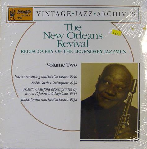 "The New Orleans Revival: Rediscovery Of The Legendary Jazzmen Volume Two Vinyl 12"""
