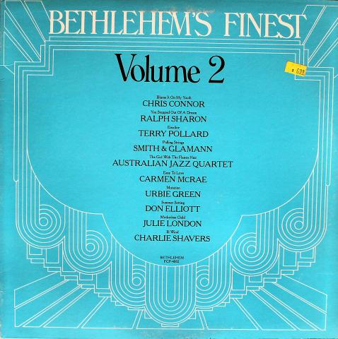 """Bethlehem's Finest: Volume 2 Vinyl 12"""""""
