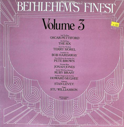 """Bethlehem's Finest: Volume 3 Vinyl 12"""""""
