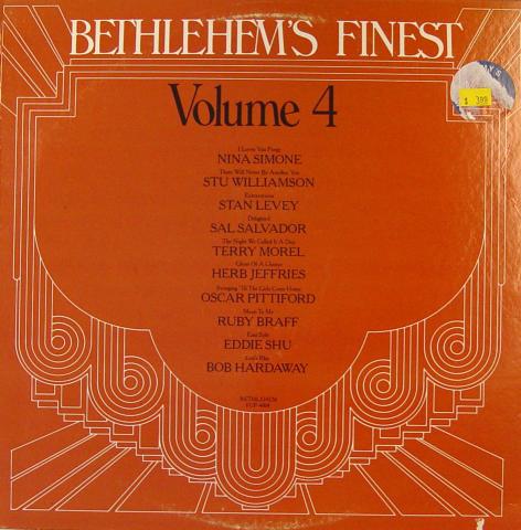"""Bethlehem's Finest: Volume 4 Vinyl 12"""""""