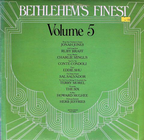 """Bethlehem's Finest: Volume 5 Vinyl 12"""""""