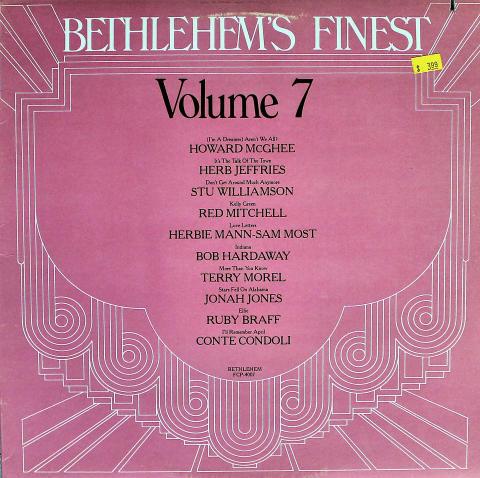 """Bethlehem's Finest: Volume 7 Vinyl 12"""""""