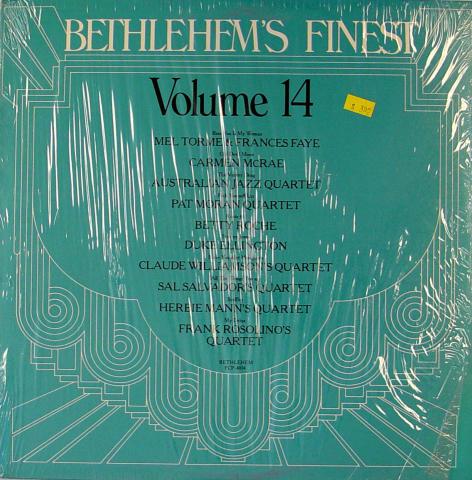 """Bethlehem's Finest: Volume 14 Vinyl 12"""""""