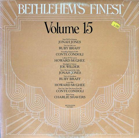 """Bethlehem's Finest: Volume 15 Vinyl 12"""""""