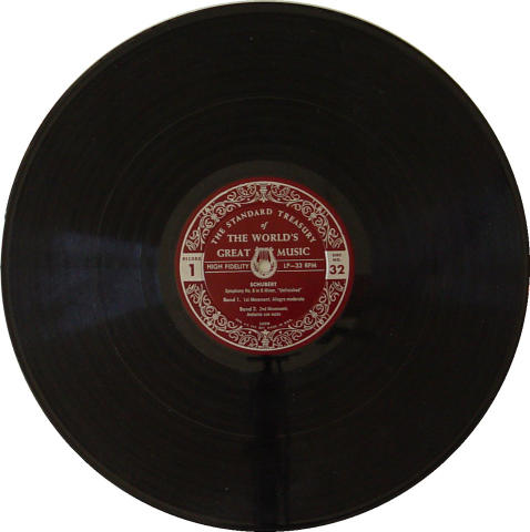 """Franz Shubert Vinyl 12"""""""