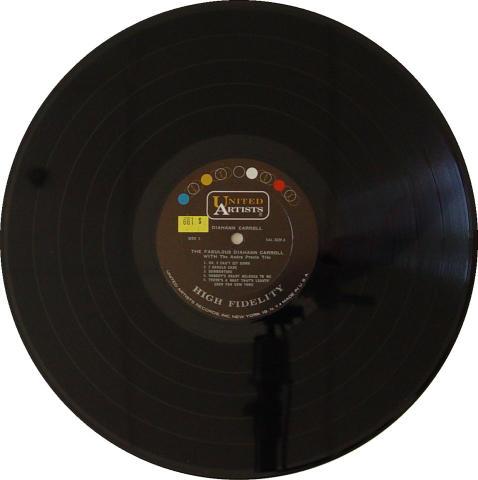 """Diahann Carroll Vinyl 12"""""""