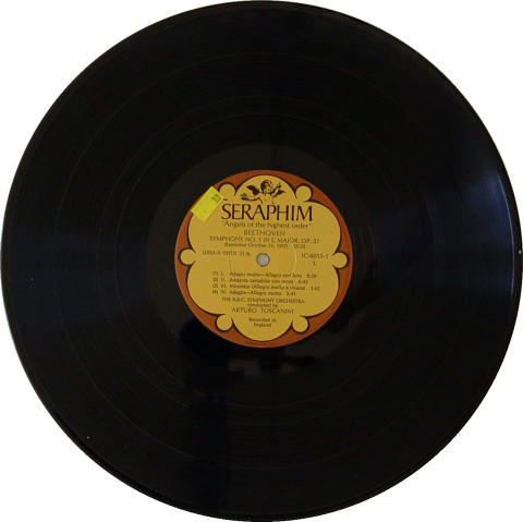 "The B.B.C. Symphony Orchestra Vinyl 12"""