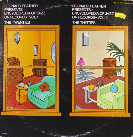 """Leonard Feather Vinyl 12"""""""