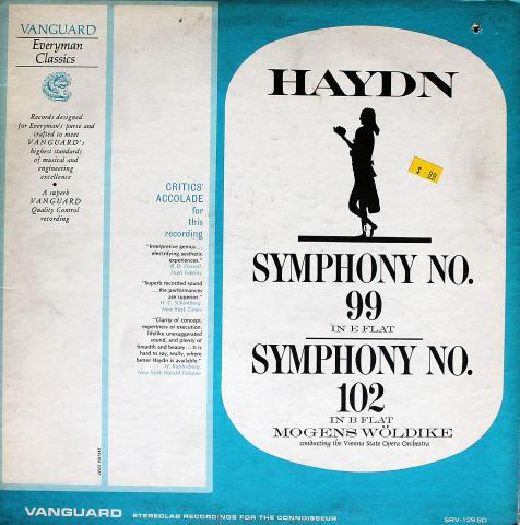 """Vienna State Opera Orchestra Vinyl 12"""""""