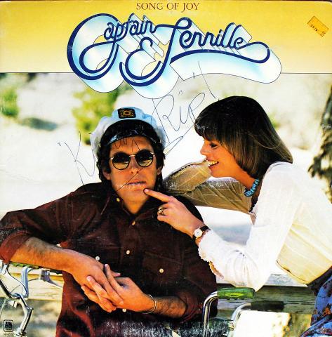 """Captain & Tennille Vinyl 12"""""""