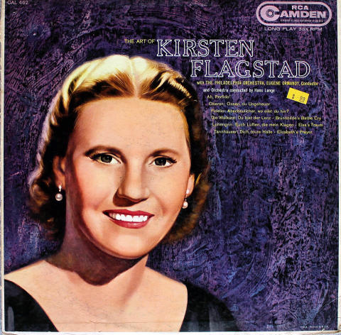 "Kirsten Flagstad Vinyl 12"""
