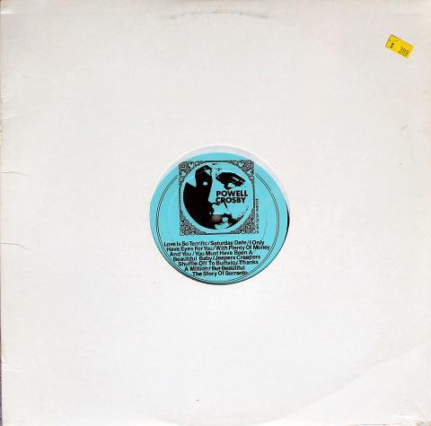 """Bing Crosby / Dick Powell Vinyl 12"""""""