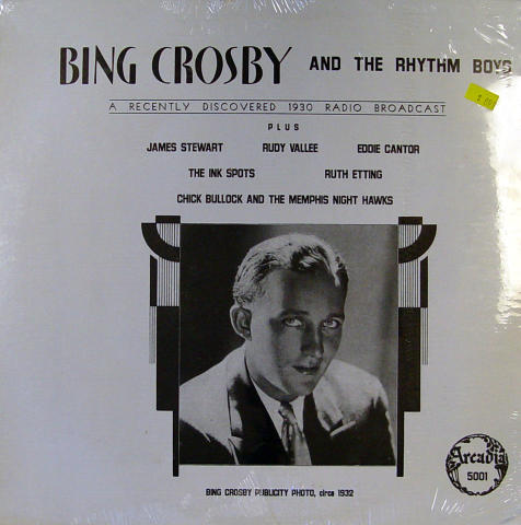 Bing Crosby And The Rhythm Boys Vinyl 12""