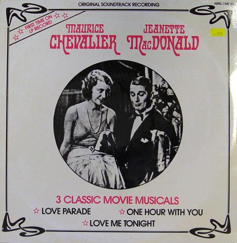 "Maurice Chevalier /Jeanette MacDonald Vinyl 12"""
