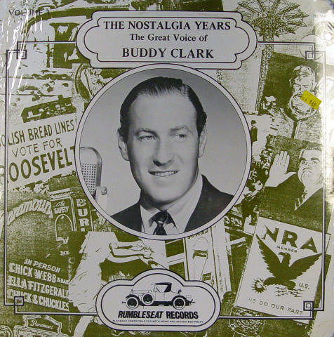 "Buddy Clark Vinyl 12"""
