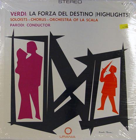 """Orchestra Of La Scala, Milan Vinyl 12"""""""