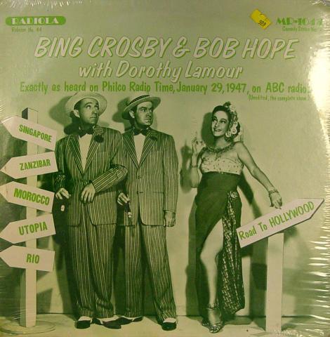 "Bing Crosby / Bob Hope Vinyl 12"" (New)"