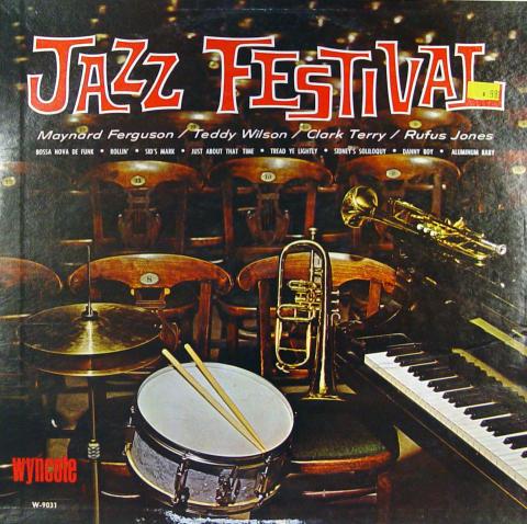 "Jazz Festival Vinyl 12"""