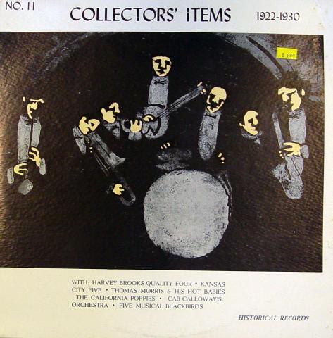 """Collectors' Items 1922-1931 Vinyl 12"""""""