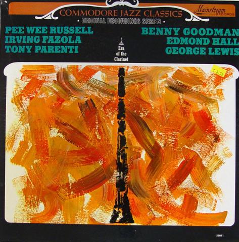 "Commodore Jazz Classics: Era Of The Clarinet Vinyl 12"""