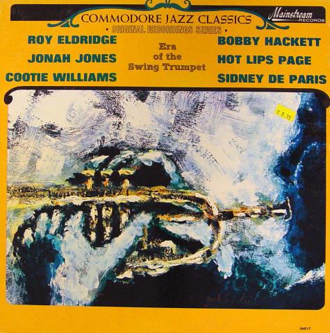 "Commodore Jazz Classics: Era Of The Swing Trumpet Vinyl 12"""