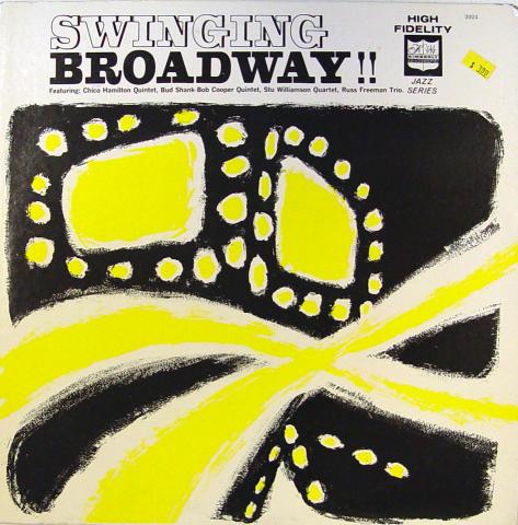 "Swinging Broadway!! Vinyl 12"""