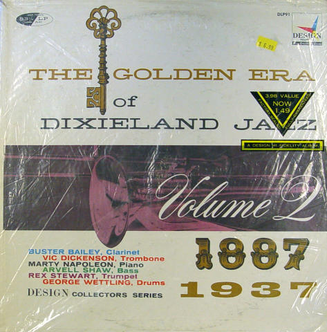 "The Golden Era of Dixieland Jazz: Volume 2 1887-1937 Vinyl 12"""