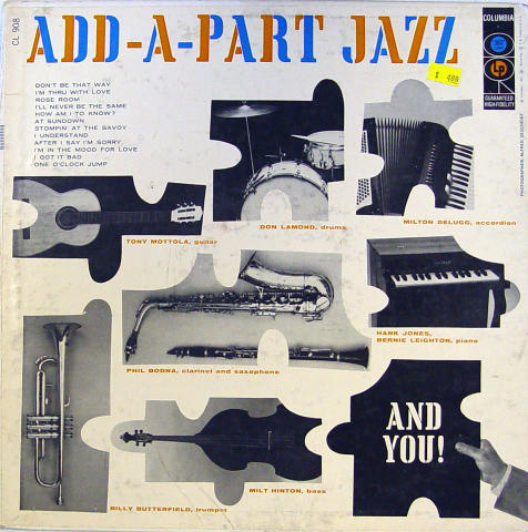 Add-A-Part Jazz Vinyl 12""