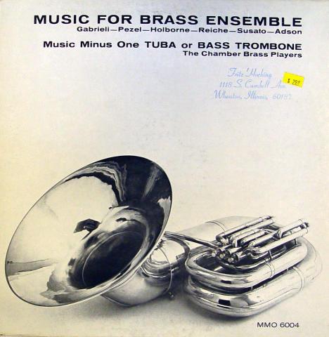 "The Chamber Brass Players Vinyl 12"""