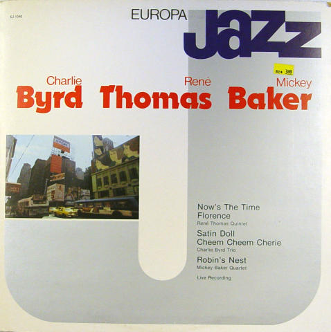 "Byrd / Thomas / Baker Vinyl 12"""