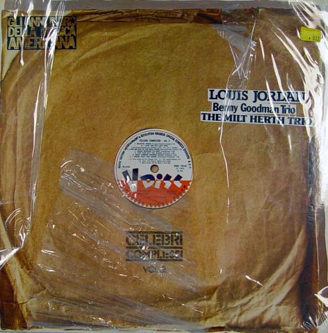 "Louis Jordan / Benny Goodman Trio / The Milt Herth Trio Vinyl 12"""