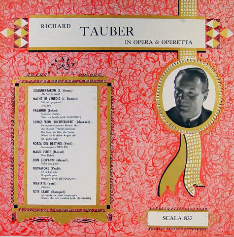 Richard Tauber Vinyl 12""