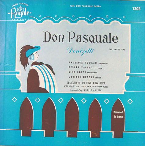"""Don Pasquale Vinyl 12"""""""
