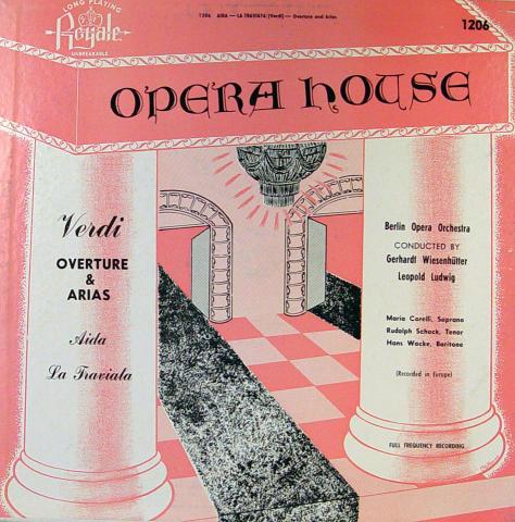 """Opera House Vinyl 12"""""""