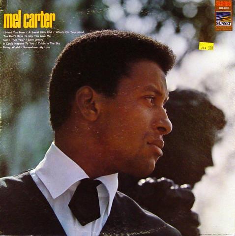"Mel Carter Vinyl 12"""