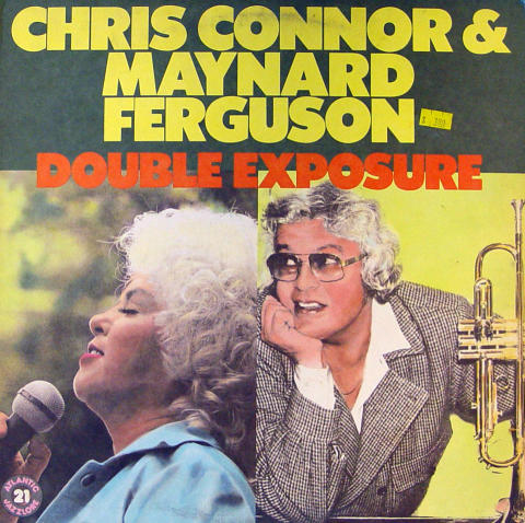 "Chris Connor & Maynard Ferguson Vinyl 12"""