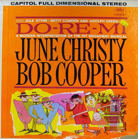 "Do-Re-Me: A Modern Interpretation Of The Hit Broadway Musical Vinyl 12"""