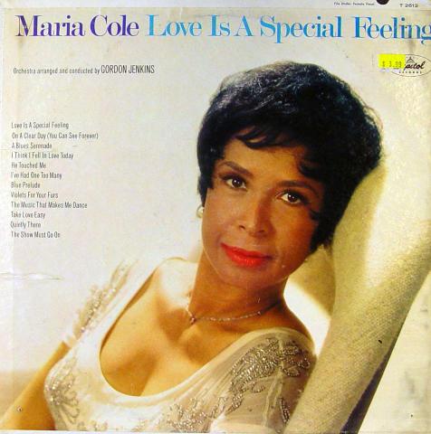 """Maria Cole Vinyl 12"""""""