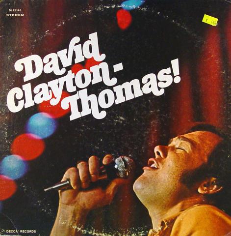 """David Clayton-Thomas Vinyl 12"""""""