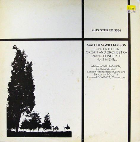"""Malcolm Williamson Vinyl 12"""""""