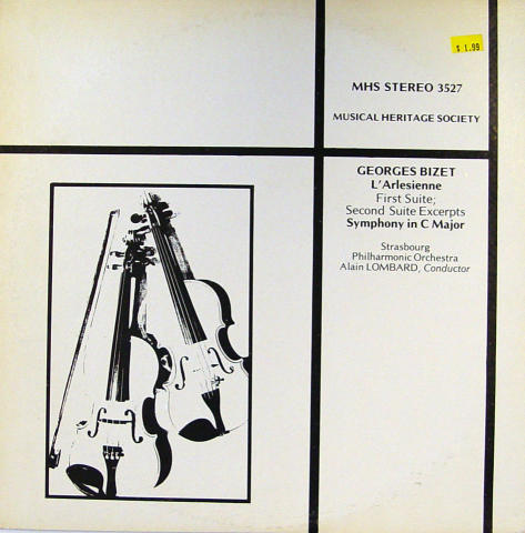 "George Bizet Vinyl 12"""