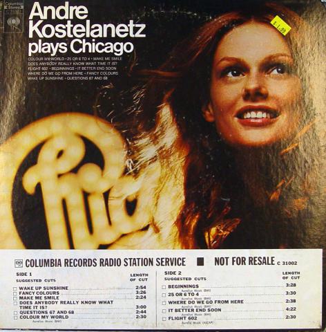 "Andre Kostelanetz Vinyl 12"""