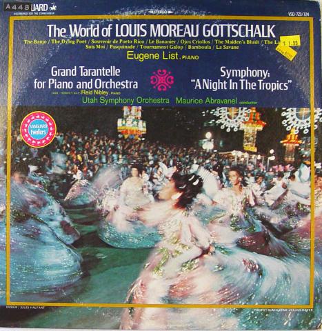"The World Of Louis Moreau Gottschalk Vinyl 12"""