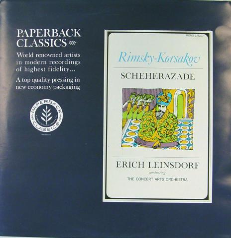 """Rimsky-Korsakov: Scheherazad Vinyl 12"""""""